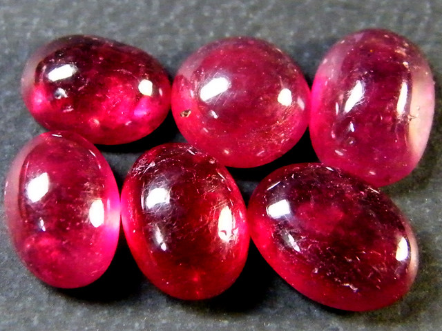 VS GRADE PIGEON BLOOD RED RUBIES CABOCHON LOT 11.55CT RM 464