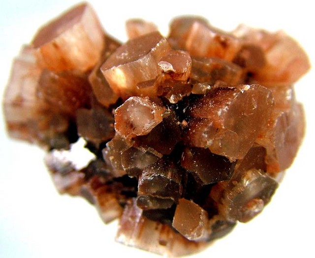 ARAGONITE CRYSTAL CLUSTER 132 CTS [MX1483]