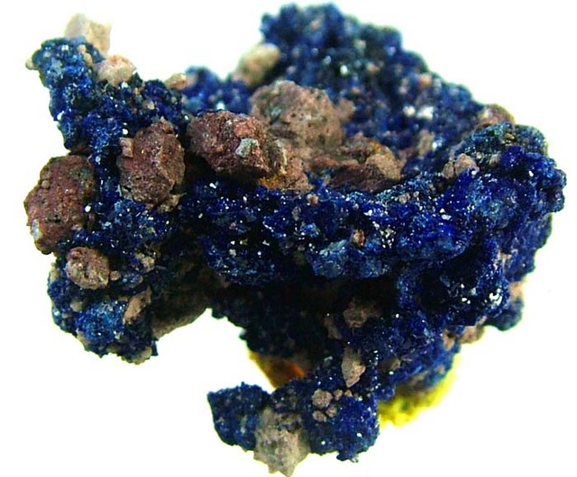 AZURITE SPECIMEN FROM MOROCCO 15.6  CTS [MX1514]