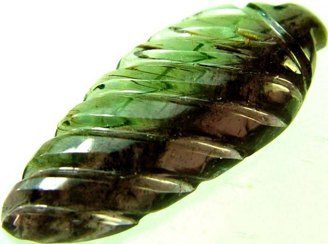 TOURMALINE CARVING-WELL POLISHED -STUNNING 9.5 CTS [S4275]