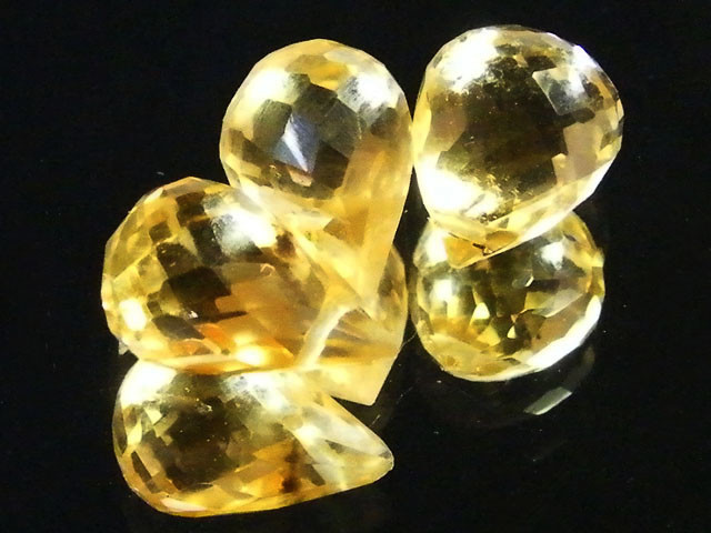 AAAA FLAWLESS GOLDEN YELLOW TOPAZ PARCEL 8.20 CTS SGS 673