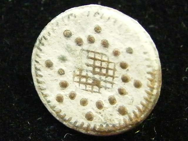 SPANISH MILITARY CUFF BUTTON     T1176