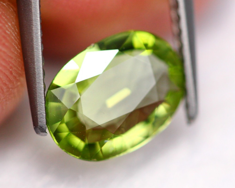 1.63Ct Natural Green Color Tourmaline ~ B0517