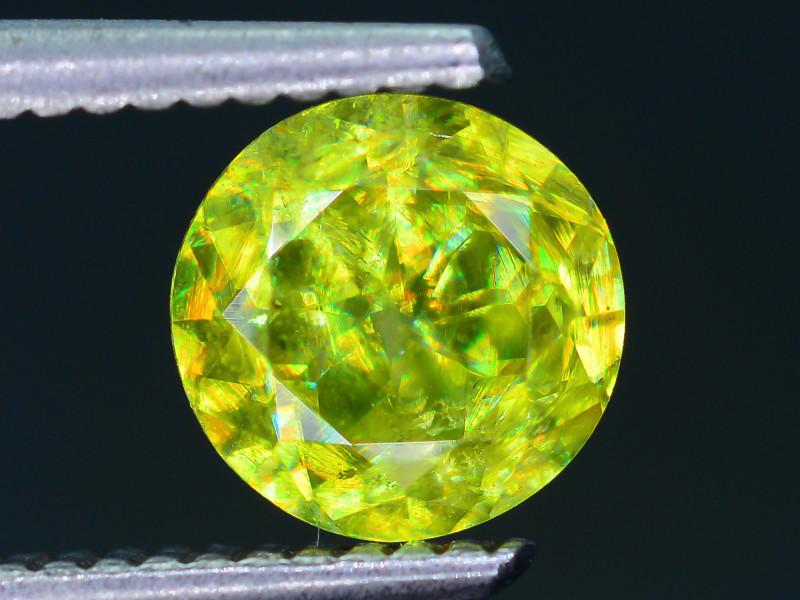 AAA Brilliance 1.53 ct Sphene Rainbow Colors Sku-25