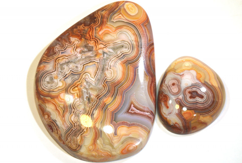67 CTS NATURAL LAGUNA AGATE STONE PARCEL ADG-390