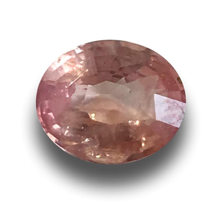 Natural unheated Padparadscha  Loose Gemstone  Sri Lanka-New
