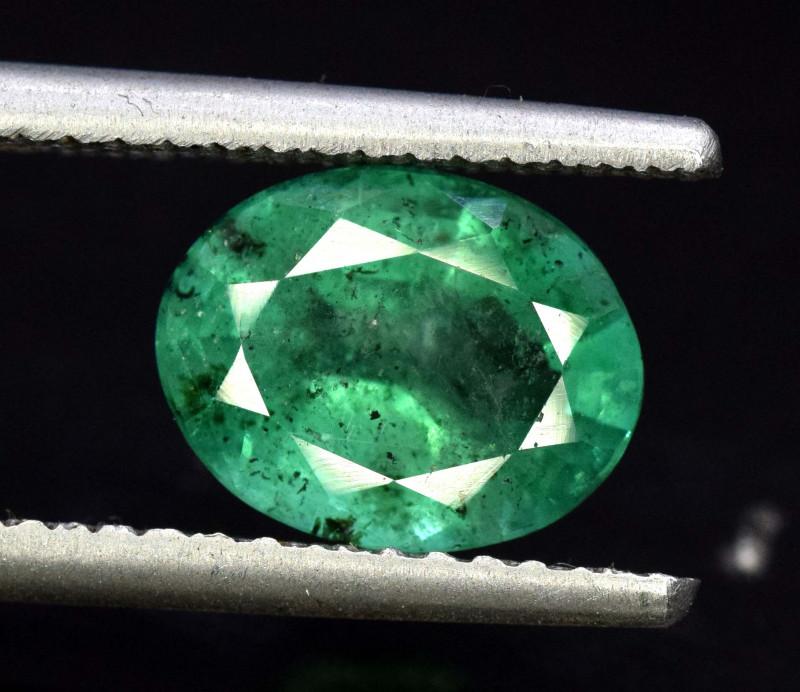 2.50 Carats Oval Cut Natural Zambian Emerald Gemstone
