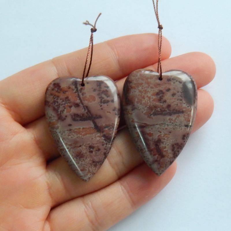 76ts Chohua Jasper earrings ,earrings ,healing stone ,gemstone(A785)