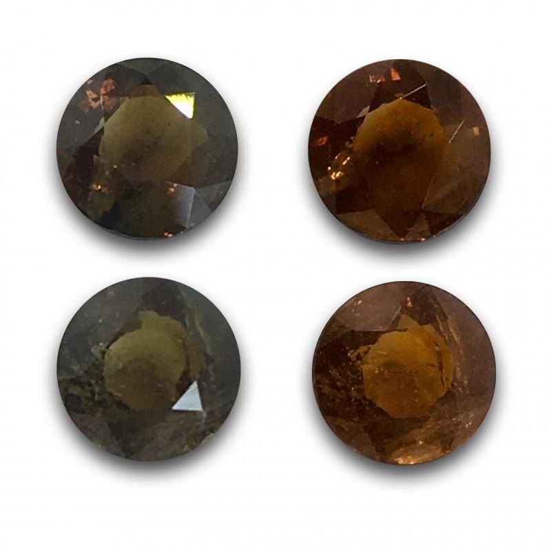 Natural Unheated Chrysoberyl Alexandrite Pair| New