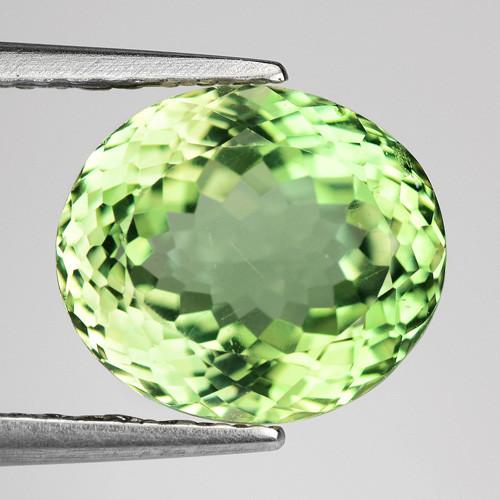 2.89 Ct Green Apatite Good Luster Gemstone AP9
