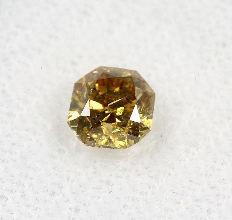 Natural Fancy Deep brownish Yellow Diamond GIA certified