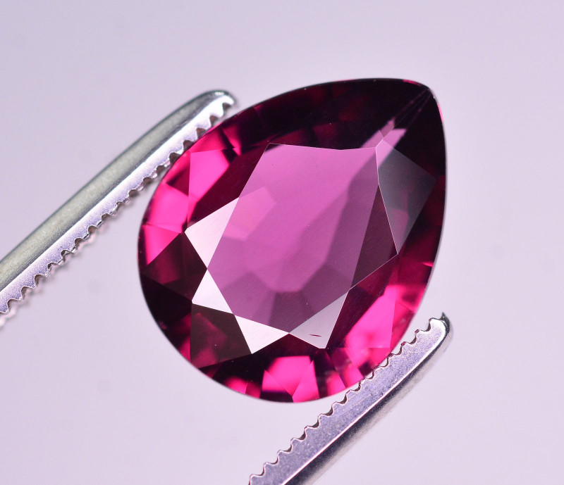 Rarest 2.75 Ct Natural Grape Garnet From Mozambique