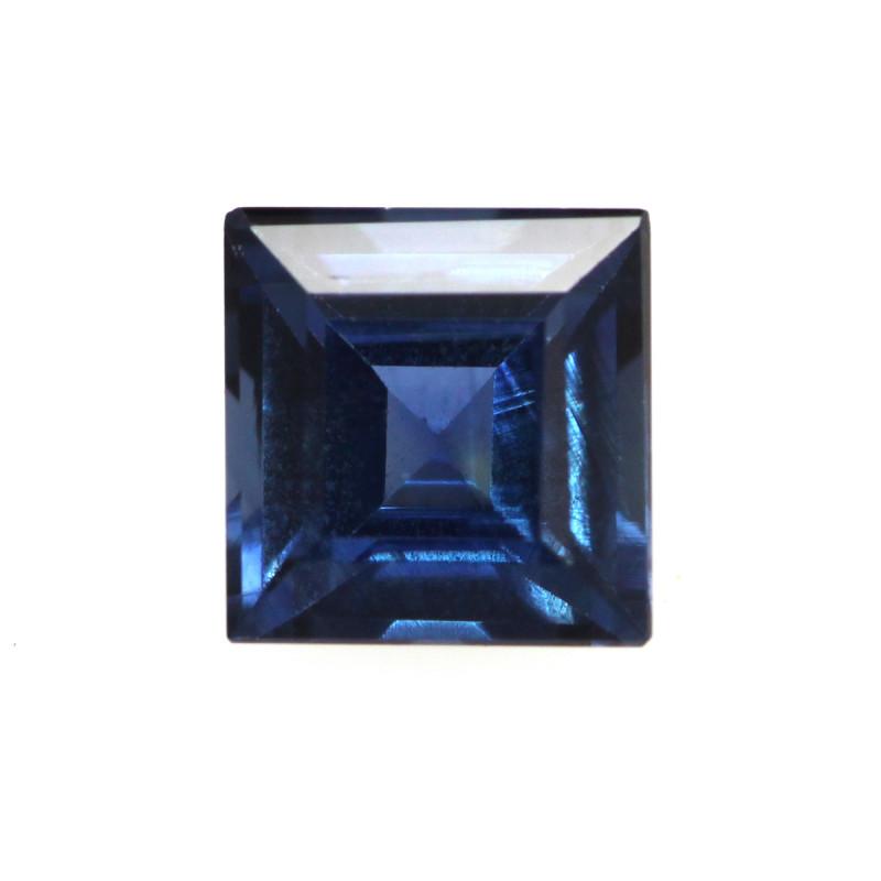 0.52cts Natural Australian Blue Sapphire Square Shape