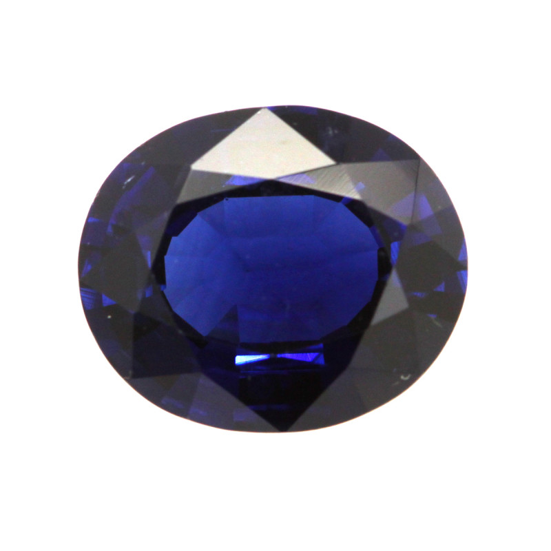 4.53cts Natural Australian Blue Sapphire Oval Shape
