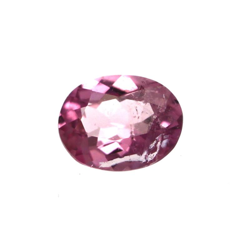 0.17cts Natural Pink Tourmaline Oval Cut