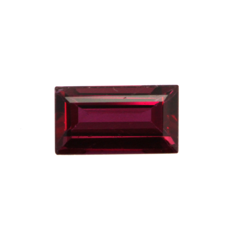 0.31cts Natural Ruby Baguette Shape