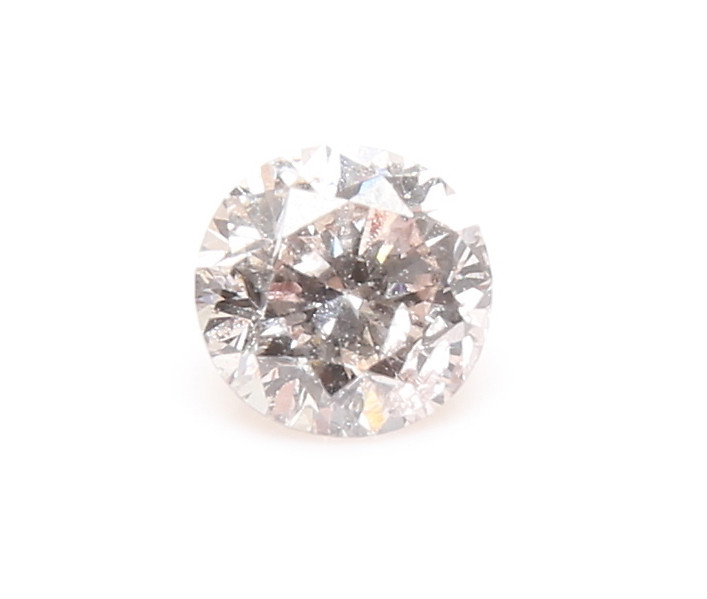 0.31ct Natural  pinkish Brown Diamond GIA certified