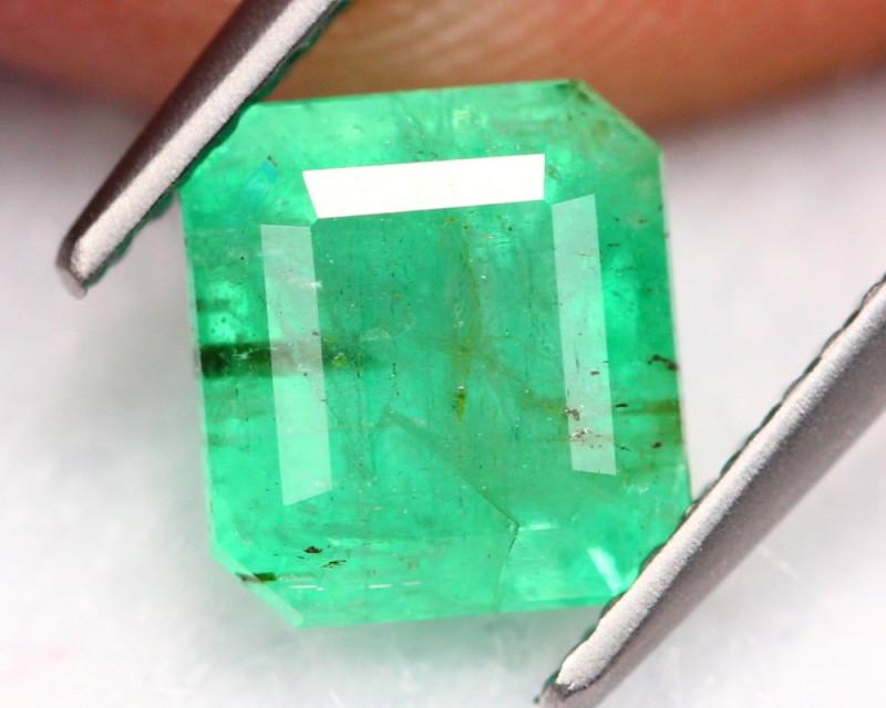 2.33Ct Natural Neon Green Colombian Muzo Emerald ~ B0505