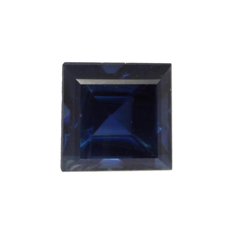 0.78cts Natural Australian Blue Sapphire Square Shape