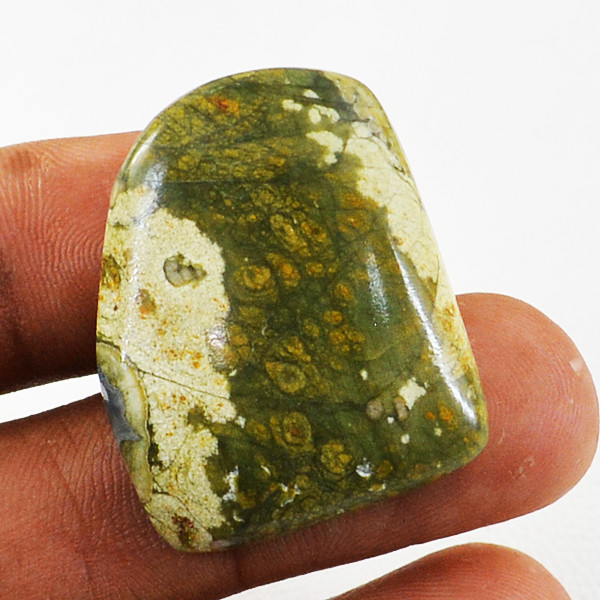 Genuine 36.00 Cts Ocean Jasper Untreated Cabochon