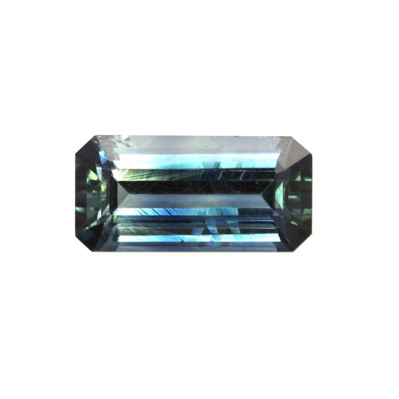 1.02cts Natural Australian Blue Sapphire Emerald Cut