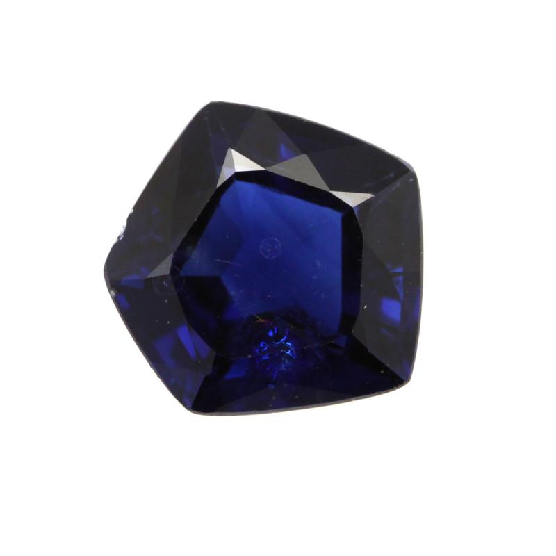 2.58cts Natural Australian Blue Sapphire Pentagonal Cut