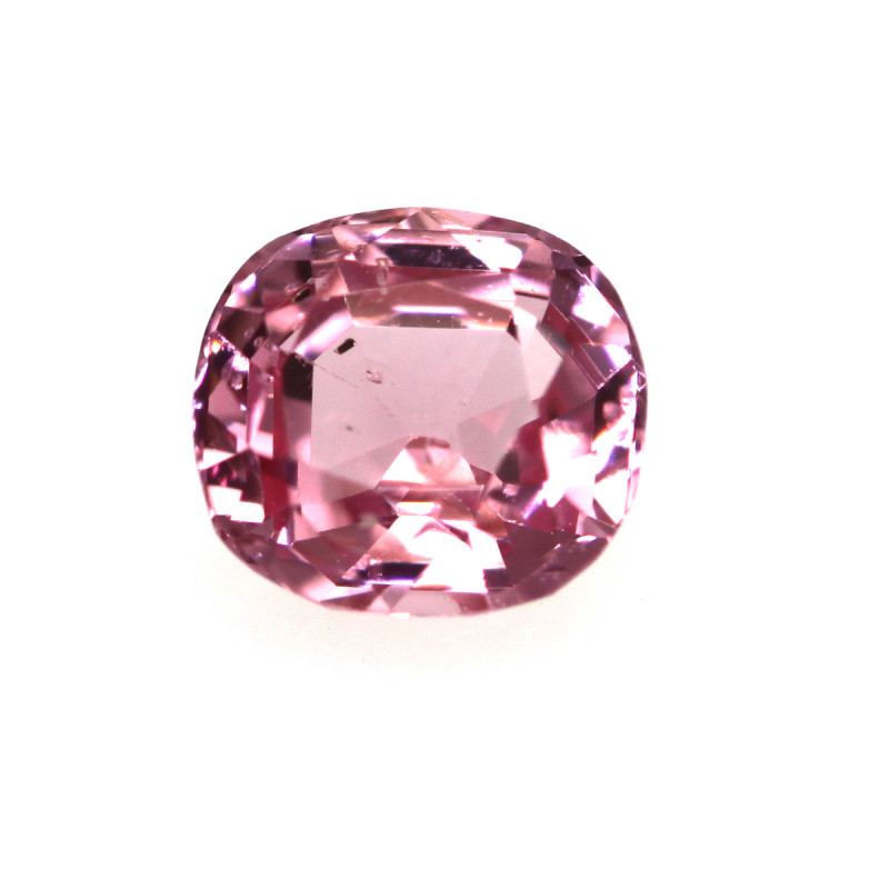 0.59cts Natural Burmese Cushion Shape Pink Sapphire