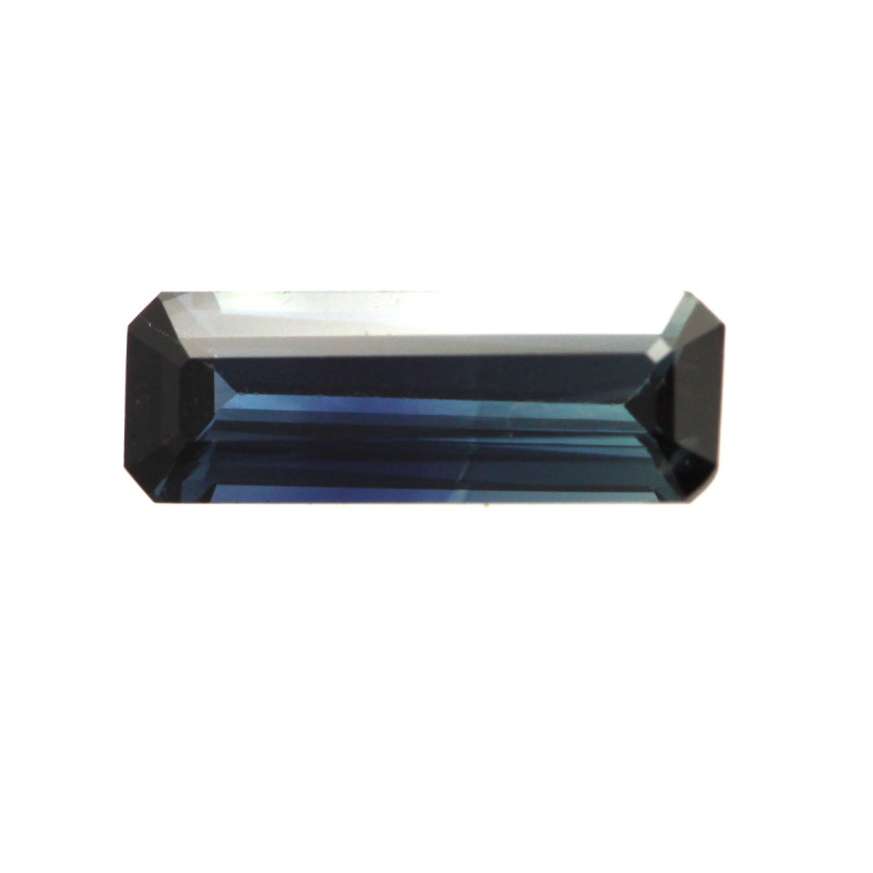 0.95cts Natural Australian Blue Sapphire Emerald Cut