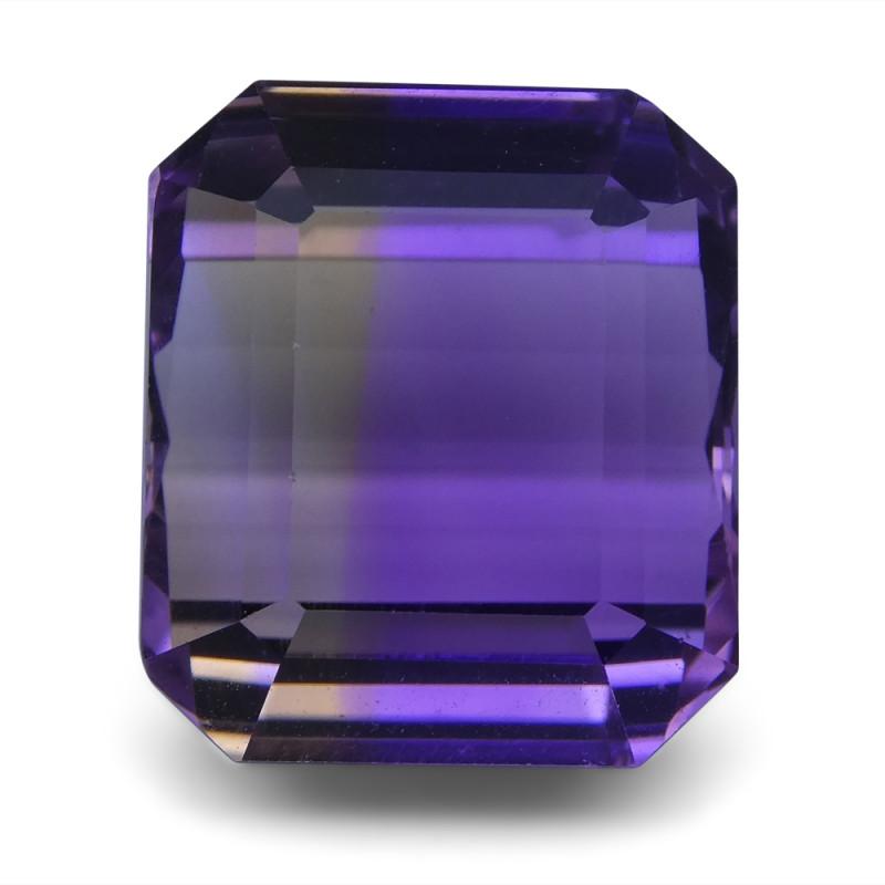 29.67 ct Emerald Cut Ametrine
