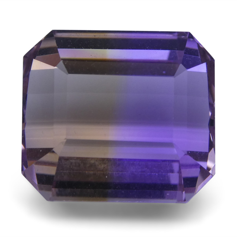20.76 ct Emerald Cut Ametrine