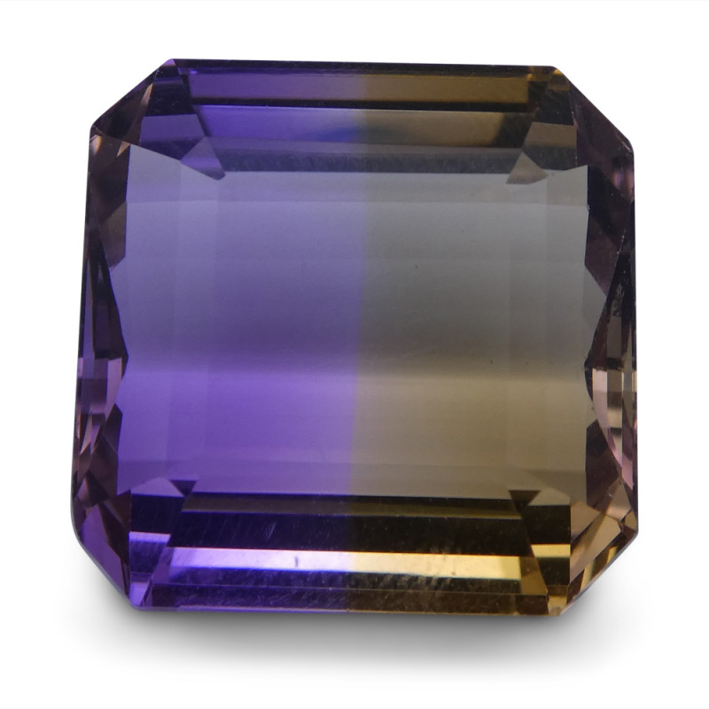 27.63 ct Square Ametrine