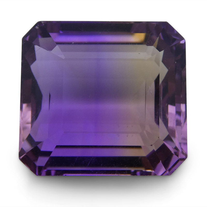 22.4 ct Emerald Cut Ametrine