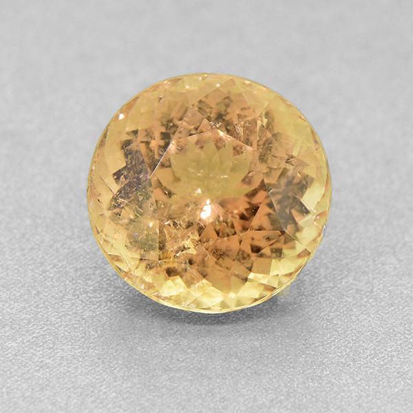 Golden Peach Tourmaline 7.45 ct Untreated Certified Ceylon - (01338)
