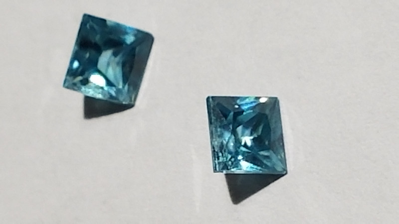 matched pair of zircon princesses