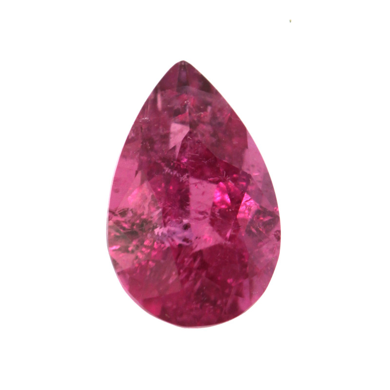 0.50cts Natural Pink Tourmaline Pear Shape