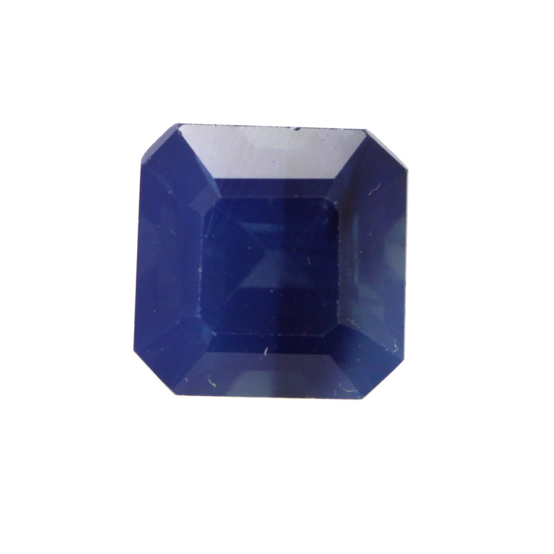 0.41cts Natural Australian Blue Sapphire Square Emerald Cut