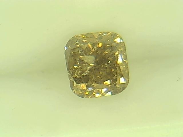 0.33ct Fancy yellowish Brown  Diamond , 100% Natural Untreated