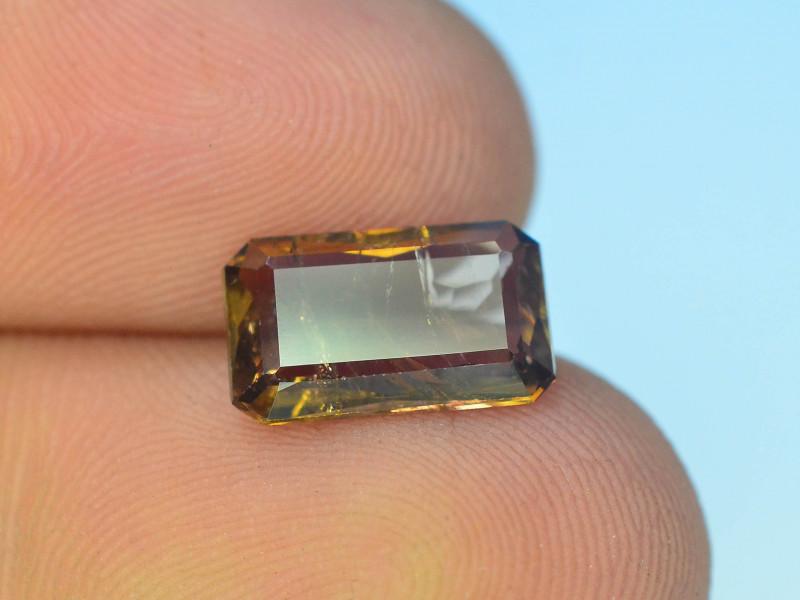 Rare 2.05 ct Multicolor Natural Axinite