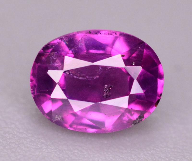 Rare 0.60 Ct Natural Corundum Pink Sapphire From Kashmir
