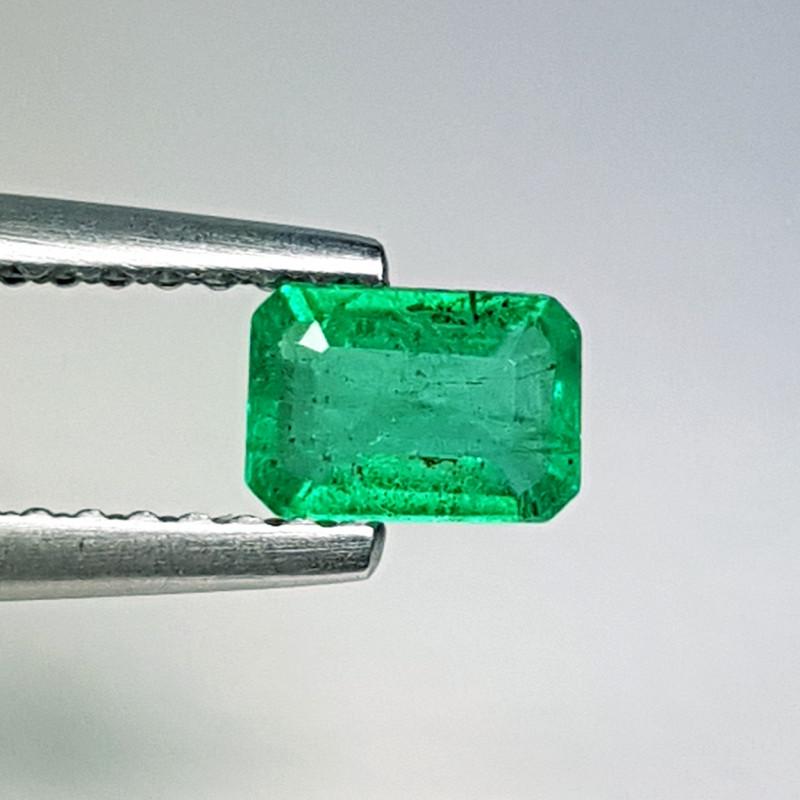 """0.40 ct """" Fantastic Gem"""" Emerald Cut Natural Emerald"""