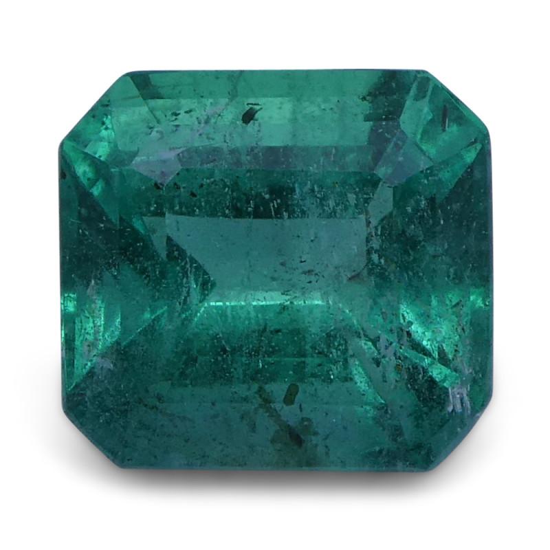 2.02 ct Emerald Cut Emerald - $1 No Reserve Auction