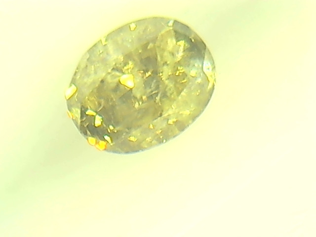 0.27ct Fancy Intense Brown Green  Diamond , 100% Natural Untreated
