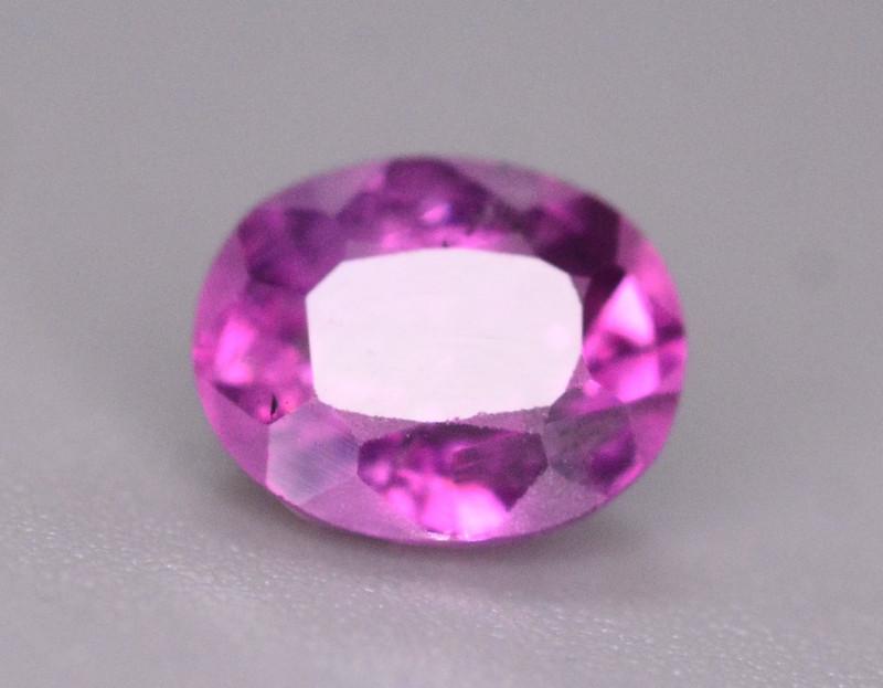 Rare 0.85 Ct Natural Corundum Pink Sapphire From Kashmir