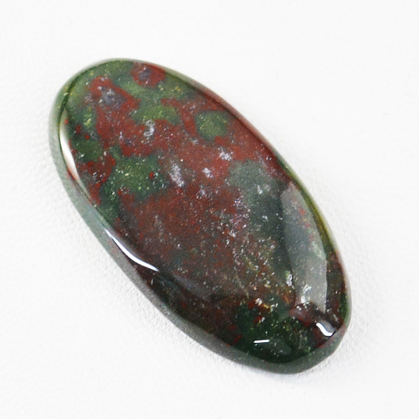 Genuine 52.00 Cts Bloodstone Oval Shape Gem