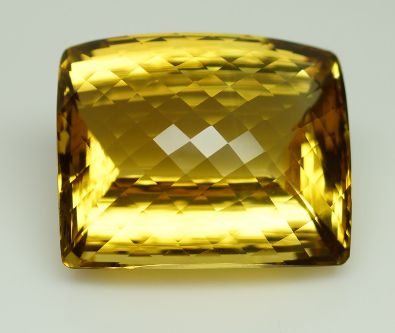 Unheated 86.76 ct  Natural Yellow Citrine  - IGE Certificate