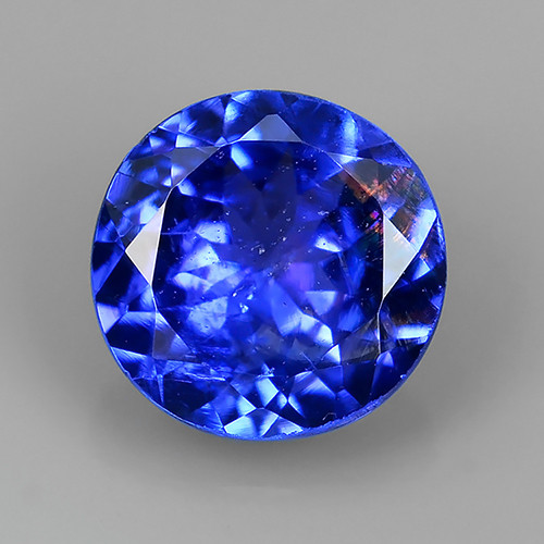 ~AWESOME NICE 5.90 MM MIXED ROUND TOP BLUE NATURAL TANZANITE FACET GEM~