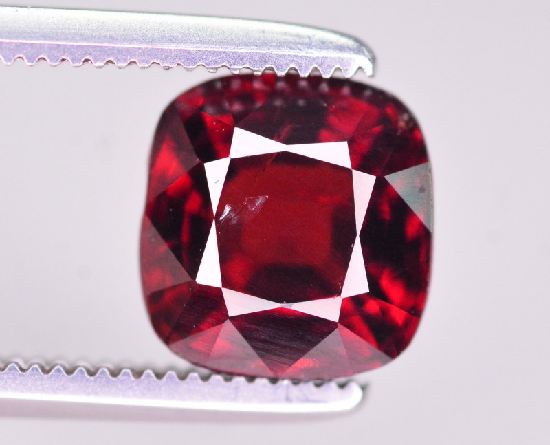 Rarest 1.90 Ct Ravishing Color Natural Red Spinel From Burma