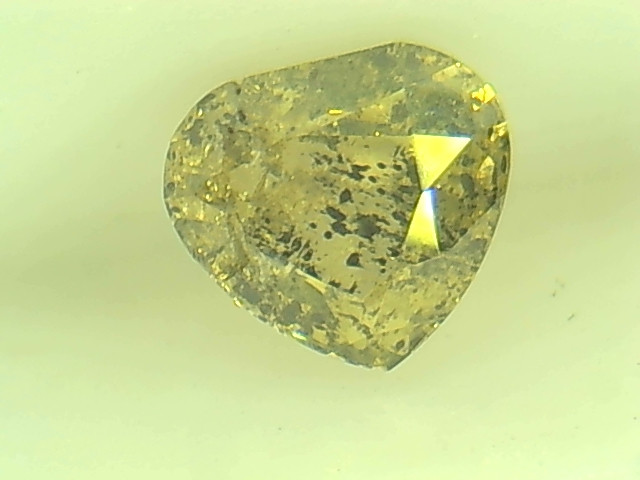 0.46ct  Fancy yellowish Green Diamond , 100% Natural Untreated