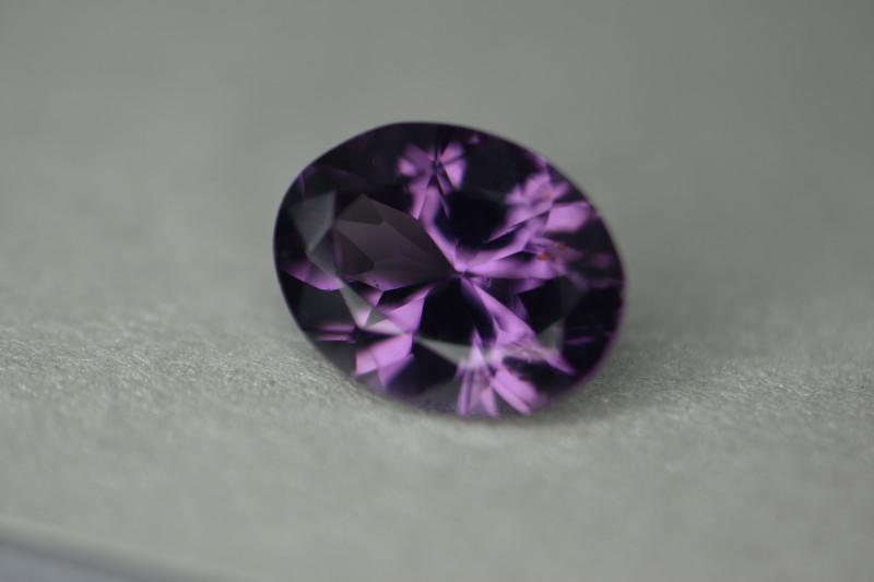 Nice rich violet tones gem spinel with nicer cutting.
