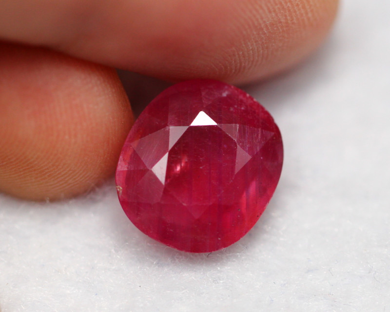 7.42cts Blood Red Colour Ruby /18